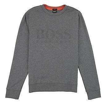 Hugo Boss Salbo Pullover grå/rød