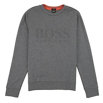 Hugo Boss Salbo Sweatshirt Grau/Rot