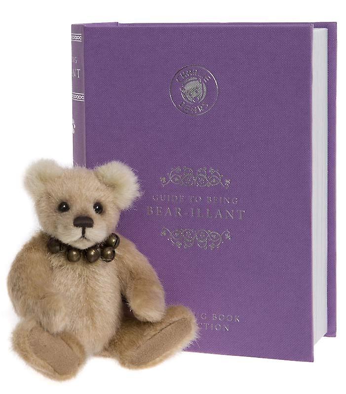 Charlie Bears Bear-illiant with book 13 cm
