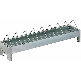 Gaun Galvanised Metal Chick Feeder Trough