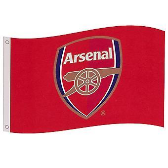 Arsenal FC Core Crest Flag