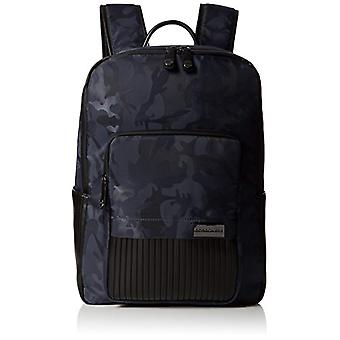 Borbonese L With Pocket - Men's Backpack - Grey (Anthracite) - 3x42x13 cm (W x H x L)