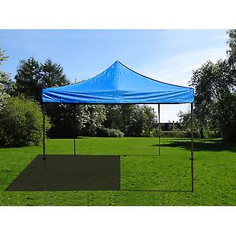 Vouwtent/Easy up tent FleXtents Basic v.2, 4x4m Blauw
