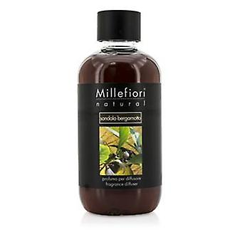 Millefiori Natural Fragrance Diffuser Refill - Sandalo Bergamotto - 250ml/8.45oz