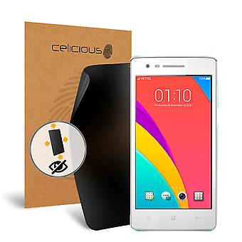 Celicious de confidențialitate plus 4-Way Anti-Spy filtru ecran protector film compatibil cu OPPO Mirror 3