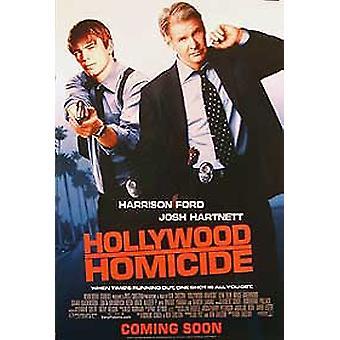 هوليوود القتل (مزدوجة من جانب العادية) الأصلي السينما الملصق