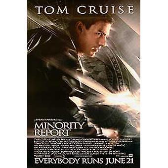 تقرير الأقلية (نمط B من جانب واحد) ملصق السينما الأصلي