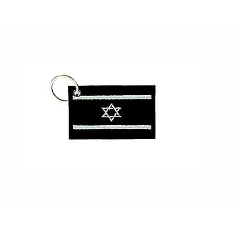 Cle Cles Key Brode Patch Ecusson Badge Flag Israel Israelien Camo