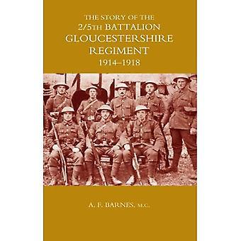 Histoire du 2/5e bataillon du régiment de Gloucestershire: 1914-1918