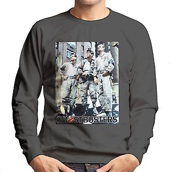 Ghostbusters Spengler Stantz & Venkman Photo Men's Sweatshirt
