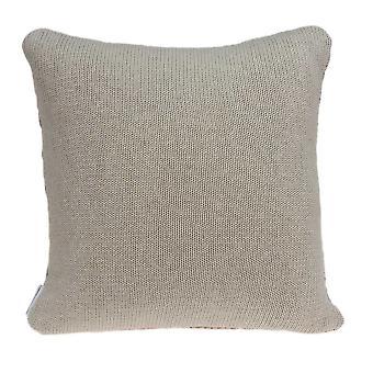 """20"""" x 7"""" x 20"""" Cubierta limpia de almohada de acento beige de transición con inserción hacia abajo"""