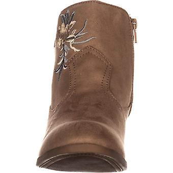 Rock & Candy Womens Loraina Almond Toe Ankle Fashion Boots