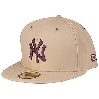 New Era 59Fifty Fitted Cap - MLB New York Yankees beige