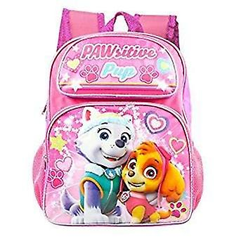 Backpack - Paw Patrol - Skype/Everest Pink Heart New 001281-2