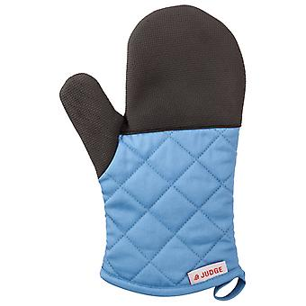 Judge Textiles, Traditional Oven Mitt, Blue