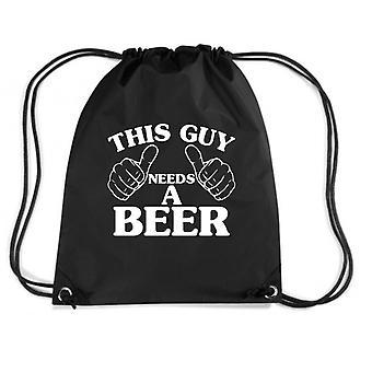 Black backpack trk0348 guy beer