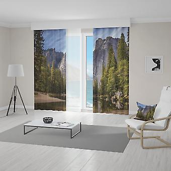 Meesoz Curtain Set - Wild Mountains