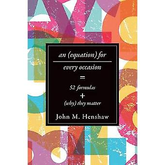 Equation for Every Occasion by John Henshaw