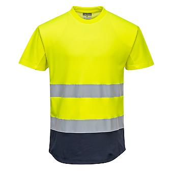 Portwest - HI-Vis Safety Workwear Two Tone Mesh T-shirt