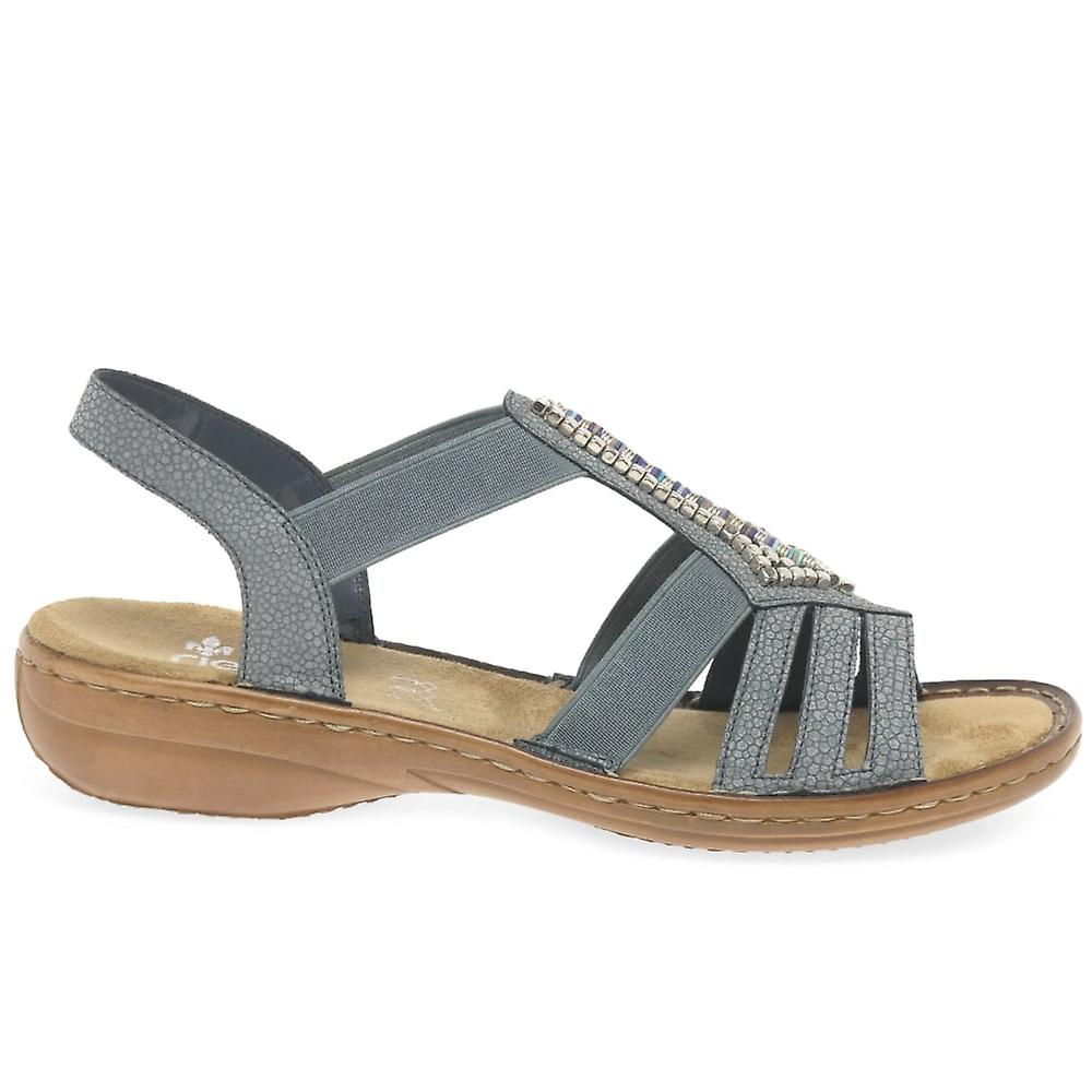 Rieker Cener Womens Sling retour sandales - Remise particulière