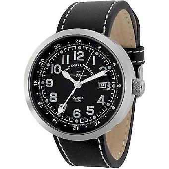Zeno-watch mens watch Rondo (dual time) B554Q-GMT-a1