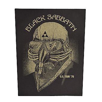 Black Sabbath US Tour '78 Back Patch