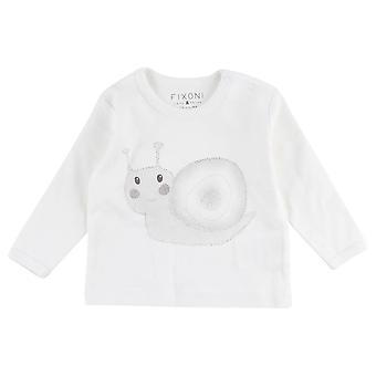Fixoni Witte Unisex T-Shirt Slak