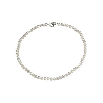 Adriana Sweet-Silver Necklace rhod. Sweetw. white 6-7mm 45 Premium Sweet. A187