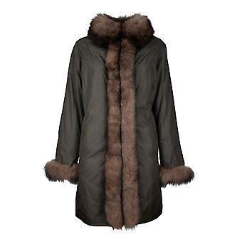 Women's Fox Reversible Coat Conny