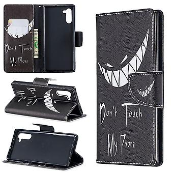 For Samsung Galaxy Note 10 Case Smirk PU Leather Wallet Cover