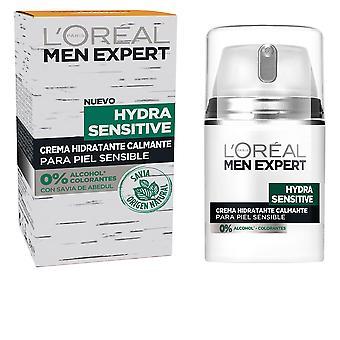 L&Apos;Oreal Make Up Men Expert Hydra Sensitive Crema Hidratante Calmante 50 Ml Dla mężczyzn
