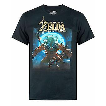 The Legend Of Zelda 'Breath Of The Wild' Moonlight Men's Short Sleeve T-shirt