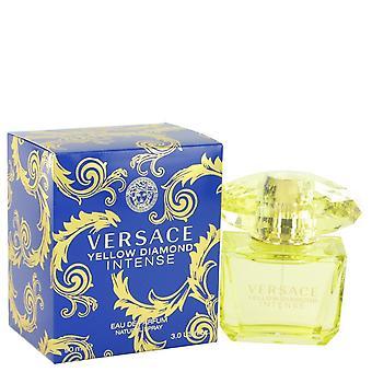 Versace Yellow Diamond Intense av Versace Eau De Parfum Spray 3 oz/90 ml (kvinnor)