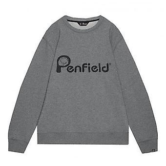Penfield Men's Grey Capen Sweatshirt