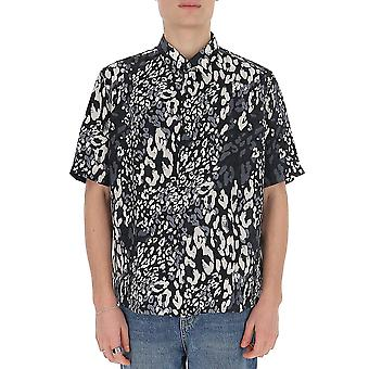 Saint Laurent 601070y1a701076 Männer's Multicolor Seide Shirt