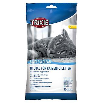 Trixie 10 Toilet Bags (Cats , Grooming & Wellbeing , Litter Box Accessories)