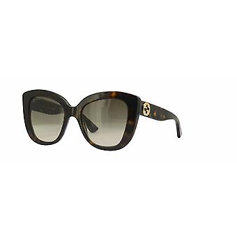 Gucci GG0327S 002 Havana/Brown Gradient Sunglasses