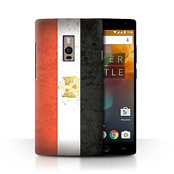STUFF4 Case/Cover for OnePlus 2/Two/Egypt/Egyptian/African Flag