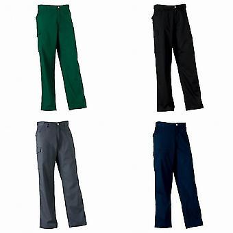 Russell Workwear Mens Polycotton Twill broek / broek (Regular)
