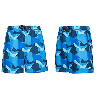 Trespass Mens Chiggers Mid Length Swim Shorts