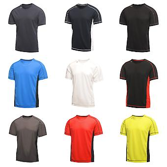 Regata Activewear Pechino Mens manica corta t-shirt
