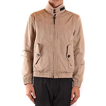 Woolrich Ezbc033057 Men's Beige Nylon Outerwear Jacket