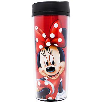 Disney Minnie Mouse Polka Dots Travel Mug