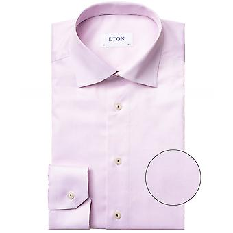 Eton Contemporary Fit Twill overhemd