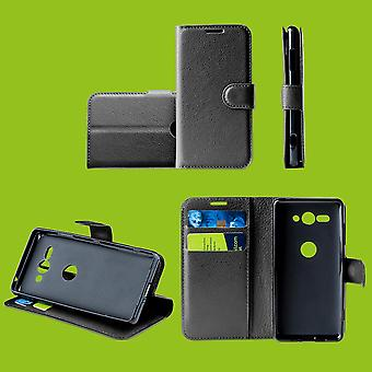 For Nokia 2.3 Pocket Wallet Premium Black Protective Case Case Cover Etuis New Accessories