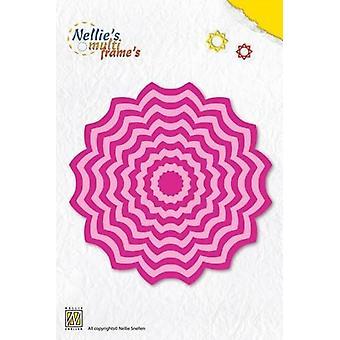 Неллизапос;s Выбор Multi Frame Die - цветок 2 MFD063