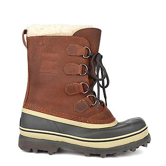 Sorel Hombres Caribou Tabaco Bota impermeable