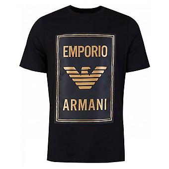 Armani Jersey T-Shirt with Maxi Patch Logo
