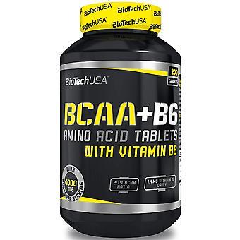 BiotechUSA Bcaa + B6 200 Tablets