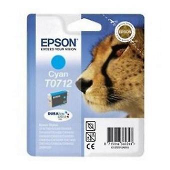 Ursprungliga bläck bläckpatron Epson C13T071240 Cyan